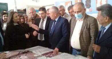 منظمة الشبيبة تفتتح أول مشروع تنموي صغير لذوي الشهداء والجرحى في الدريكيش