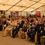 احتفال بالذكرى الـ 75 للجلاء في قاعدة حميميم… تأكيد على عمق العلاقات السورية الروسية ومواصلة مواجهة الإرهاب-فيديو
