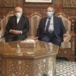 وزير الخارجية الإيراني يصل إلى دمشق لبحث تطورات أوضاع المنطقة