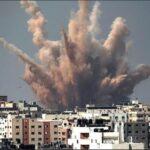 مجدداً.. طيران الاحتلال يقصف غزة