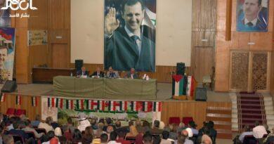 قيادة الحزب تلتقي اليوم الكوادر البعثية في فرع درعا ضمن الحملة الانتخابية التي تقوم بها